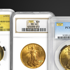 Collecting Graded Gold American Eagles