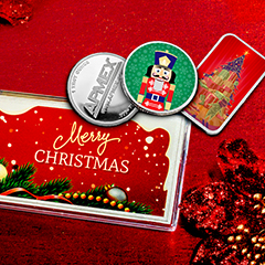 Deck the Holidays with APMEXclusive® Bars and Rounds