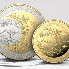 Celebrate the 25th Anniversary of Royal Australian Mint's Kangaroo Series with APMEX