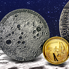 Celebrate Lunar History in Gold and Silver