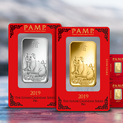 PAMP Suisse Brings Good Fortune to APMEX