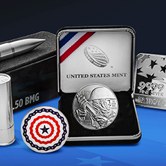 Celebrate this Fourth of July with Stars, Stripes and Silver!