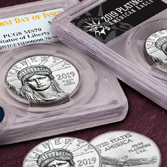 Lady Liberty Returns in Platinum at APMEX