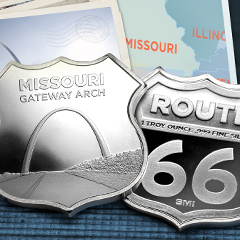 The Icons of Route 66 Series Shifts West for the Missouri Gateway Arch