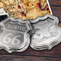 Celebrate the Main Street of America with the Icons of Route 66 Series
