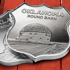 Icons of Route 66 Sweeps Down the Plains with Oklahoma Shield