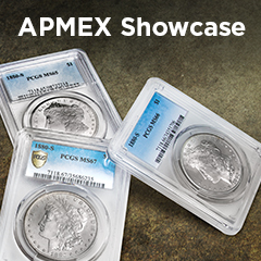 APMEX Showcase: The 1880-S Morgan Dollar