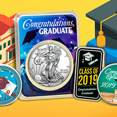 Give the Gift of Gold or Silver to Your 2019 Graduate