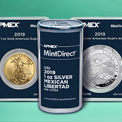 Direct From Mints Around the World – Sealed Products Only at APMEX