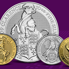 Earn Your Chance to Win a Free Gold Lion of England Coin