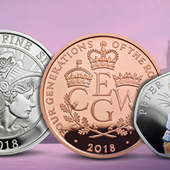Commemorate History with Coins from The Royal Mint