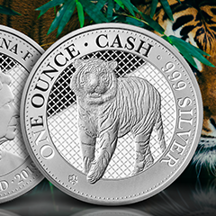 APMEX and the East India Company Announce the Exclusive Silver Tiger Coin