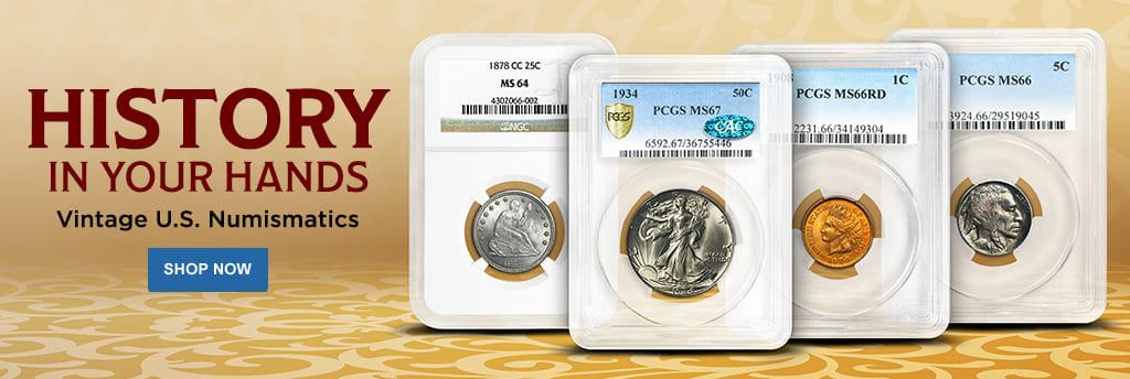 Vintage U.S. Numismatics