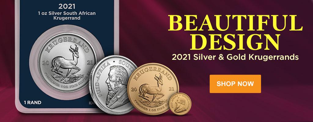 2021 Silver & Gold Krugerrands