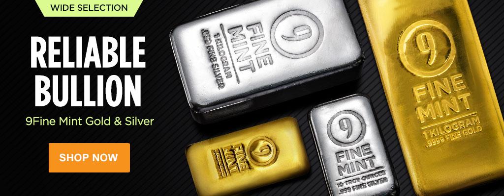 9Fine Mint Gold & Silver