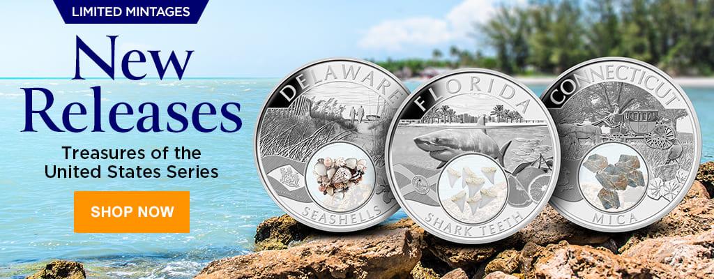 Treasures of the United States - CT, DE & FL
