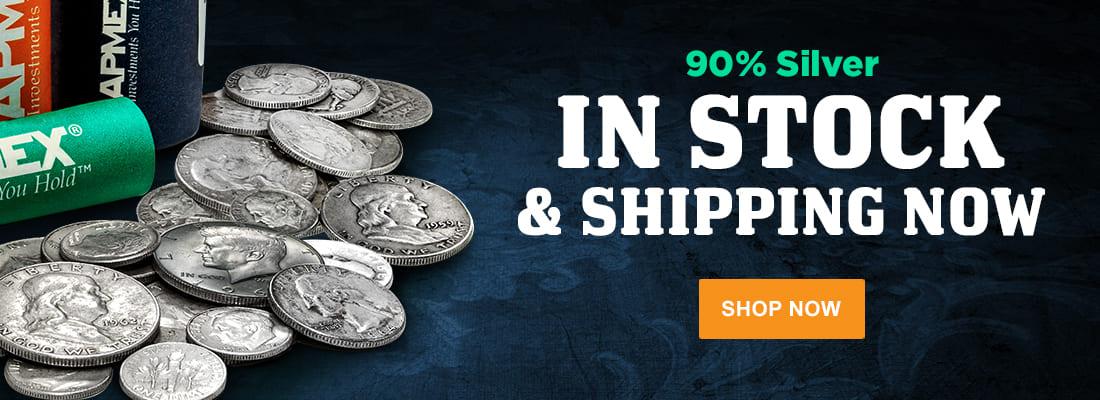 90% Silver In Stock