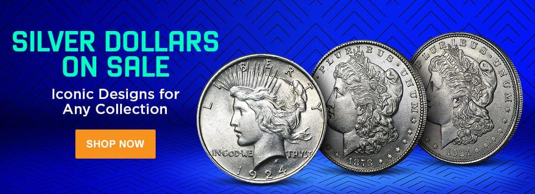 Silver Dollars On Sale