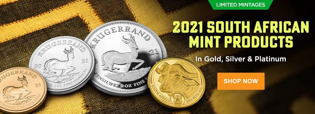 South African Mint Products