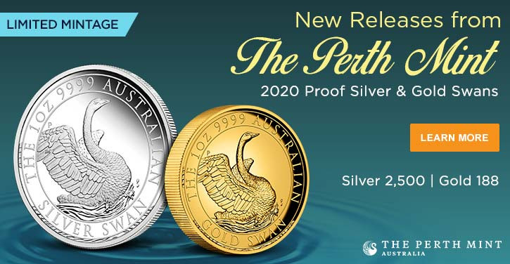2020 Proof Silver & Gold Swans|200601