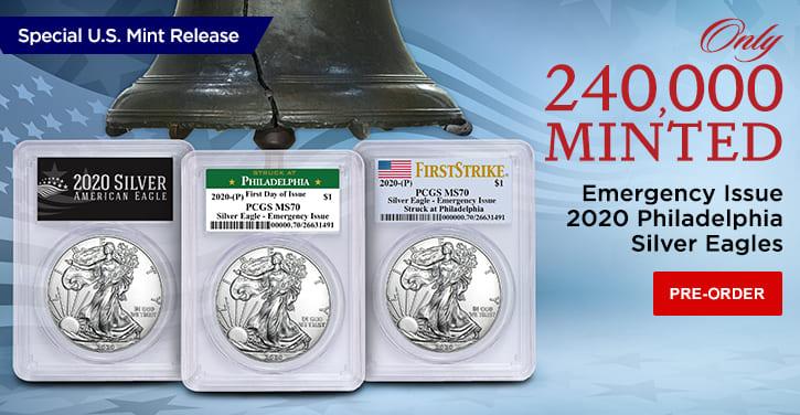 Emergency Issue 2020 Philadelphia Silver Eagles