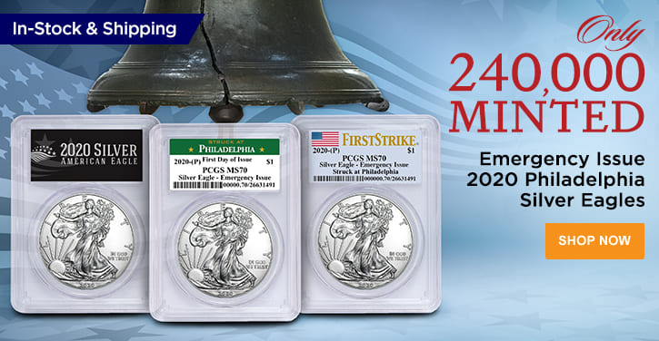 Emergency Issue 2020 Philadelphia Silver Eagles In Stock and Shipping|200601
