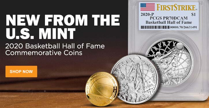 2020 Basketball Hall of Fame Commemorative Coins
