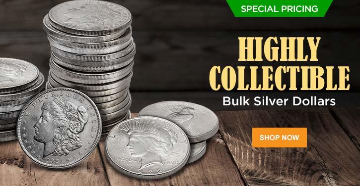 Bulk Silver Dollars