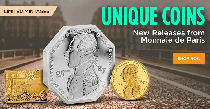 New Releases from Monnaie de Paris