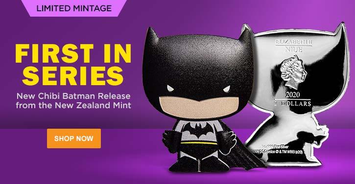 New Zealand Mint Commems feat. 2020 Chibi Batman