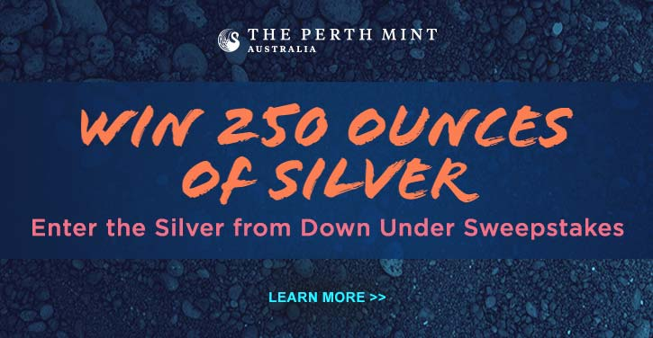 Silver from Down Under Sweepstakes