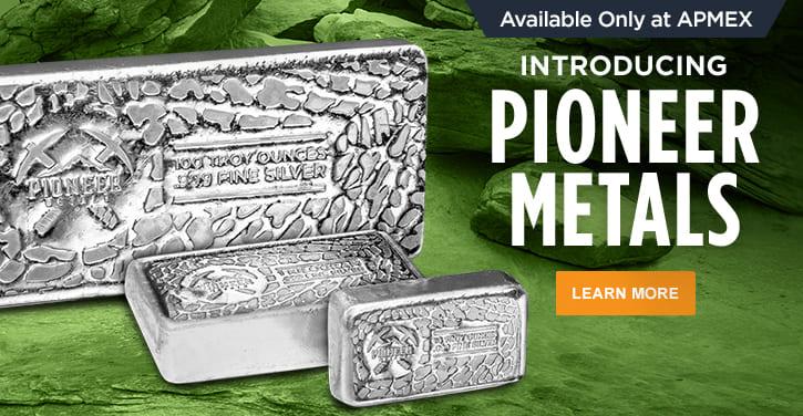 Pioneer Metals Silver Bars