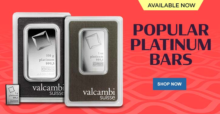 Popular Platinum Bars