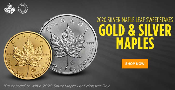 2020 Gold and Silver Maple Leafs