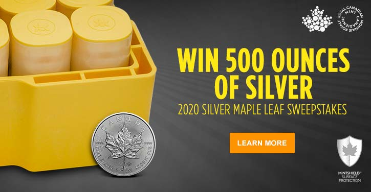 2020 Silver Maple Leaf Sweepstakes