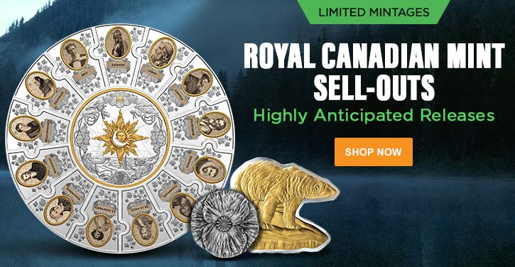 Royal Canadian Mint New Releases