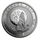Royal Canadian Mint 3/4 oz Silver Howling Wolves Coins