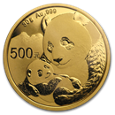 Chinese Gold Panda Coins (All)