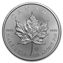 Royal Canadian Mint Silver Maple Leaf Coins