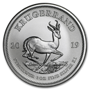 South African Mint Silver Krugerrand Coins