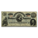 1863 Confederate Currency