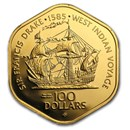 Gold Coins from British Virgin Islands