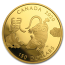 Royal Canadian Mint Gold Lunar Coins (All)