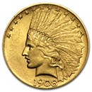 $10 Indian Head Eagle Coins (1907-1933)