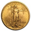 $20 Saint-Gaudens Double Eagle Coins (1907-1933)