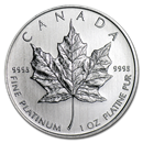 Royal Canadian Mint Maple Leaf Platinum Coins
