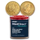 MintDirect® Gold Maple Leafs