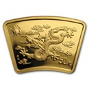 Chinese Fan Gold Coins