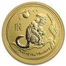 Year of the Monkey Fractional Gold