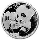 Chinese Silver Panda Coins (BU & Proof)